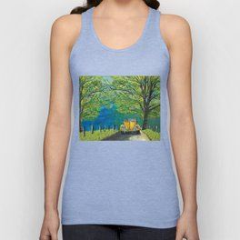 Tennessee Cabriolet Spring Drive Unisex Tank Top