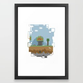 A world of dreams Framed Art Print