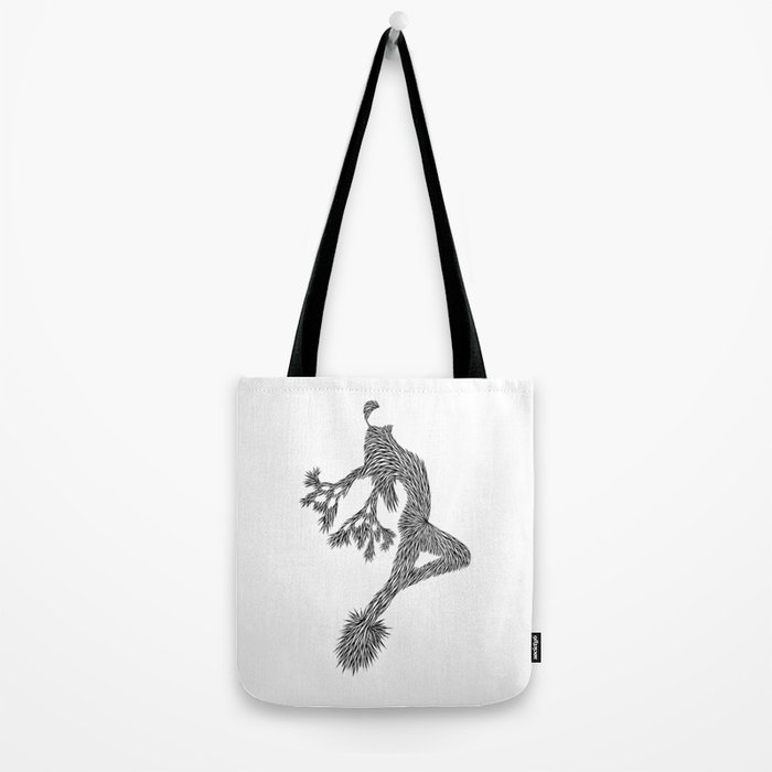Quail Woman by CREYES of ArtFx Old Town Yucca Valley Tote Bag