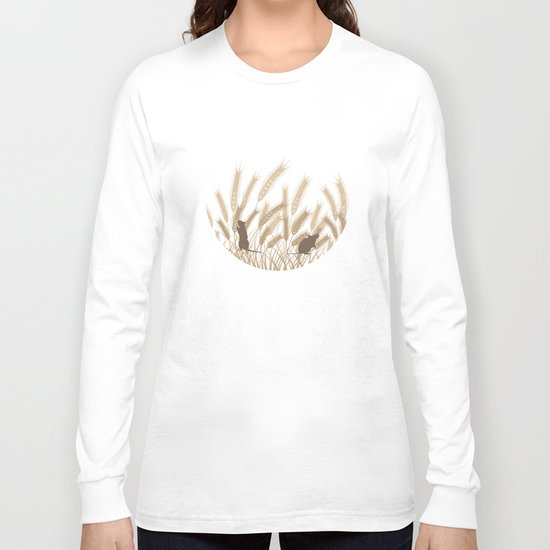 Mice In The Grain No. 2 Long Sleeve T-shirt