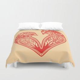 Love Birds Duvet Cover