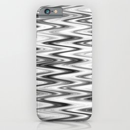 WAVY #1 (Grays & White) iPhone Case