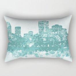 Design 89 Cityscape Rectangular Pillow