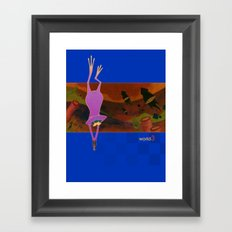 world3 Framed Art Print