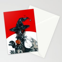 voodoo witch Stationery Cards