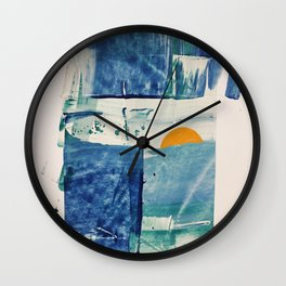The Mid-April Sunrise Wall Clock