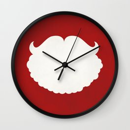 Santa Claus Beard Wall Clock