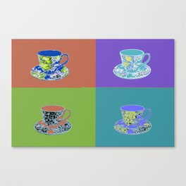 Hot Tea Canvas Print