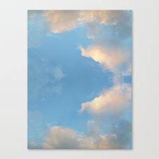 Cloud mirror Canvas Print
