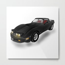 C C Stingray Metal Print