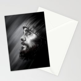 Jared Leto | Monolith Tour Digital Portrait Stationery Cards