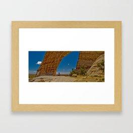 White Mesa Arch Framed Art Print