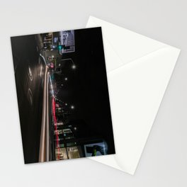 Streaming Lights on The Avenue Stationery Cards