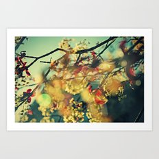 Welcome Spring   01 Art Print