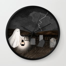 The Graveyard Wall Clock