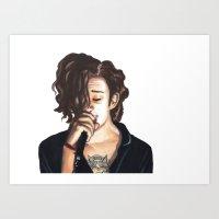 Matty Art Print