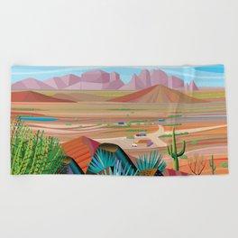 La Pimeria, West Phoenix Beach Towel