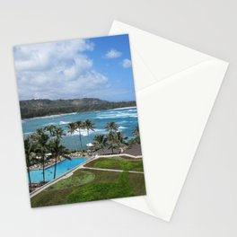 TURTLE BAY VIEW Stationery Cards