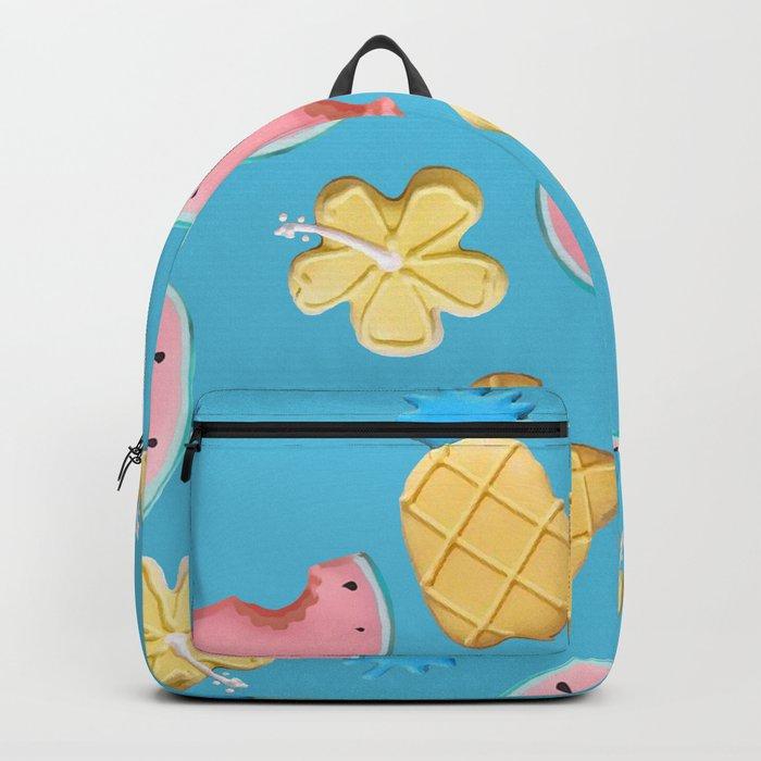 Tropikal pattern Backpack