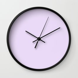 Purple Passion ~ Lavender Froth Wall Clock