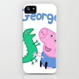 George Pig iPhone Case