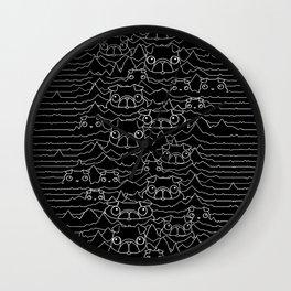 Pug Division Wall Clock