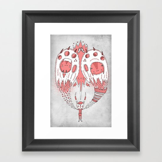 With open arms Framed Art Print