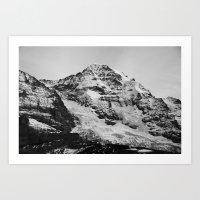switzerland Art Prints featuring Switzerland by Anita Hsieh
