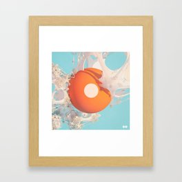 RECURSIVE.ZYGOTE (everyday 06.07.16) Framed Art Print