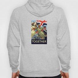 Together -- British Empire WW2 Hoody