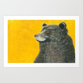 Bezosh the Bear Art Print
