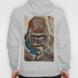 Thinking Gorilla Hoody
