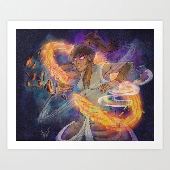 Pure Cosmic Energy Art Print