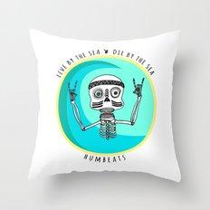 Stoked Throw Pillow