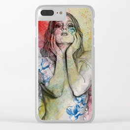 The Withering Spring II Clear iPhone Case