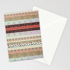 Leopard  print HIAWATHA   Stationery Cards