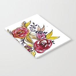 November Floral Notebook