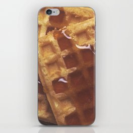 Waffles With Syrup iPhone Skin