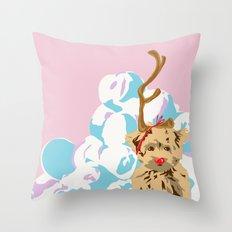 Merry Grinchmas Throw Pillow