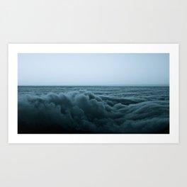 An Ocean Of Clouds Art Print