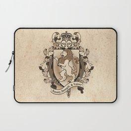 Lion Coat Of Arms Heraldry Laptop Sleeve