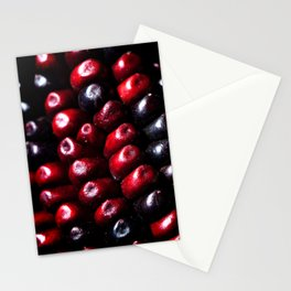 Red Corn Stationery Cards