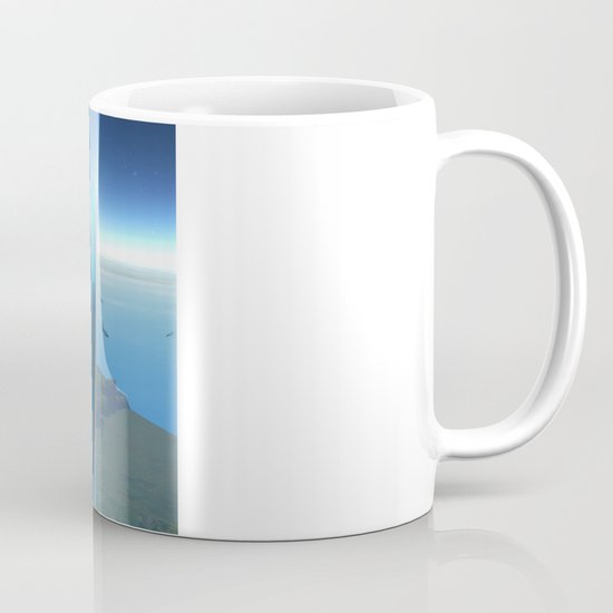 space elevator - babylon transfer station 02 Mug