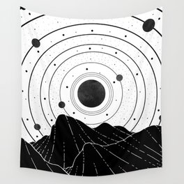 Dark Astronomy Wall Tapestry
