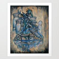 Twist of Kain Art Print
