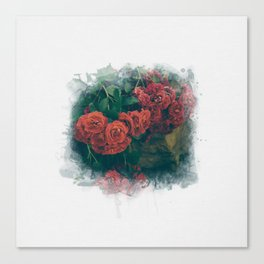 Fading Flowers Canvas Print
