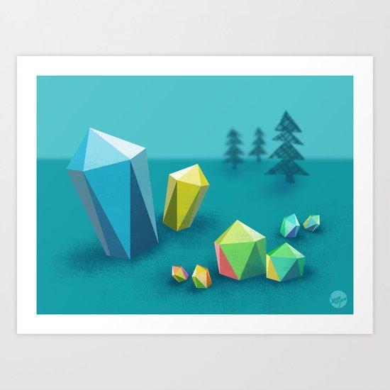 The Quarry Art Print