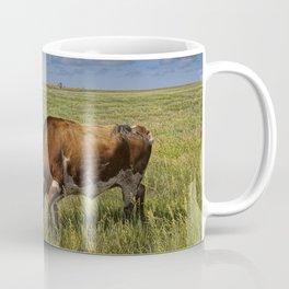 Longhorns on the Prairie Coffee Mug