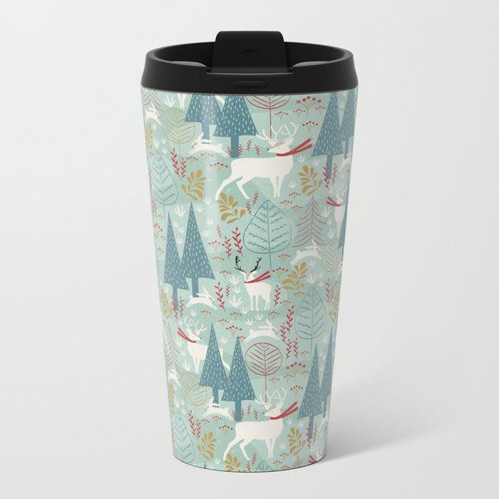 Woodland Christmas Travel Mug