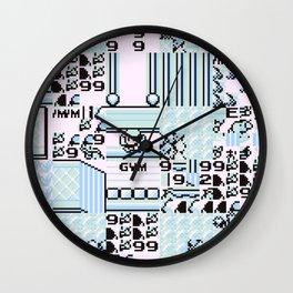 Glitch City Wall Clock